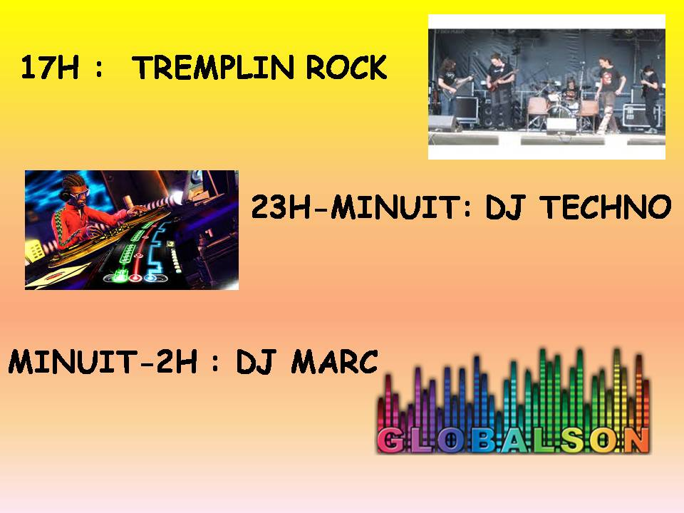Tremplin rock
